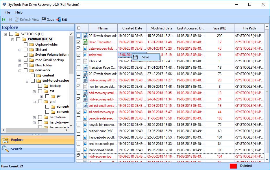 aprende recuperar un archivo borrado