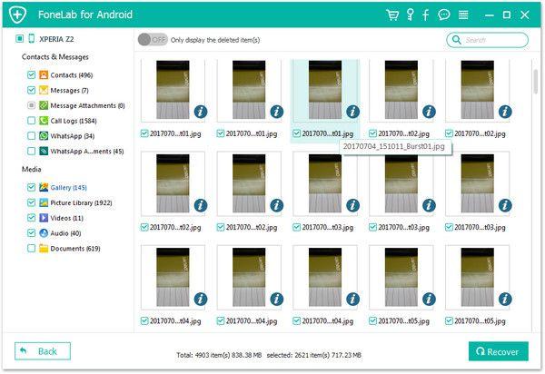 Recuperar archivos borrados Tablet Samsung