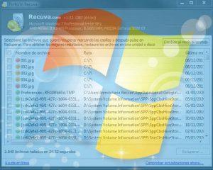 Recuva para Windows