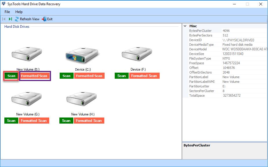 recuperar archivos borrados después de formateo del disco duro